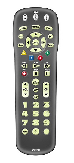 Remote Control Instructions